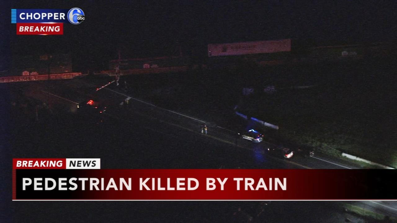 Person struck, killed by freight train in Bucks County