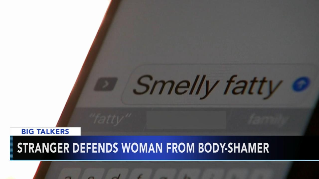 Stranger defends woman from body-shamer on airplane