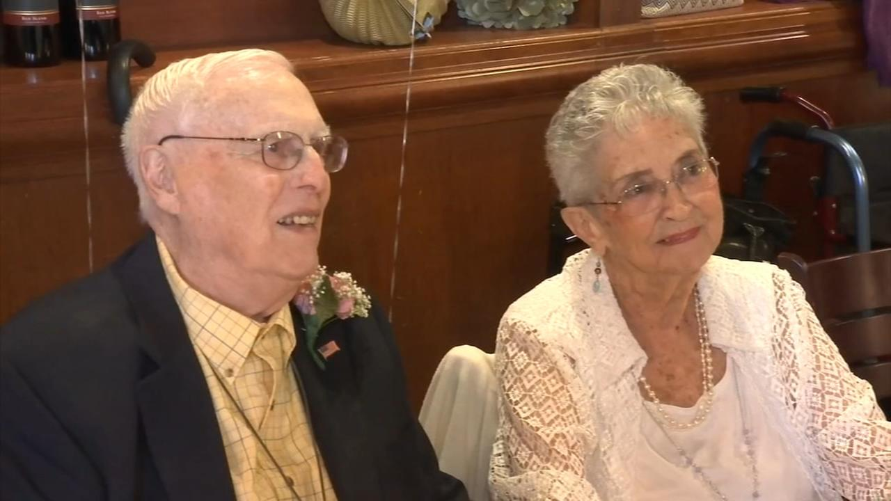 Celebrating 70 years of marriage
