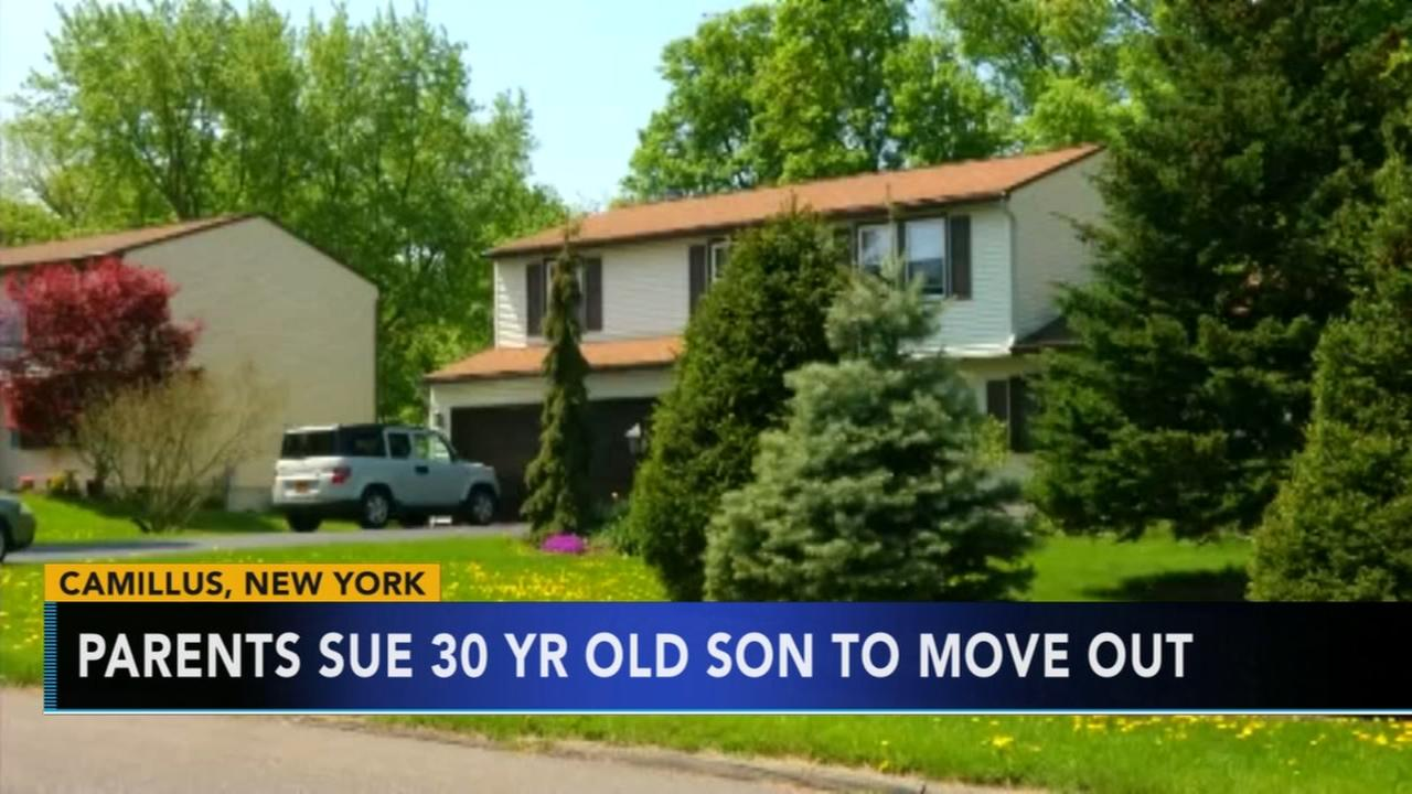 Parents sue 30-year-old son to move out
