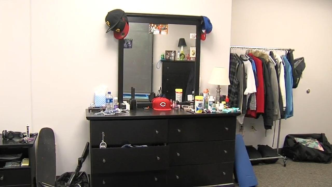 Tour mock teen bedroom for tips to find drug abuse signs