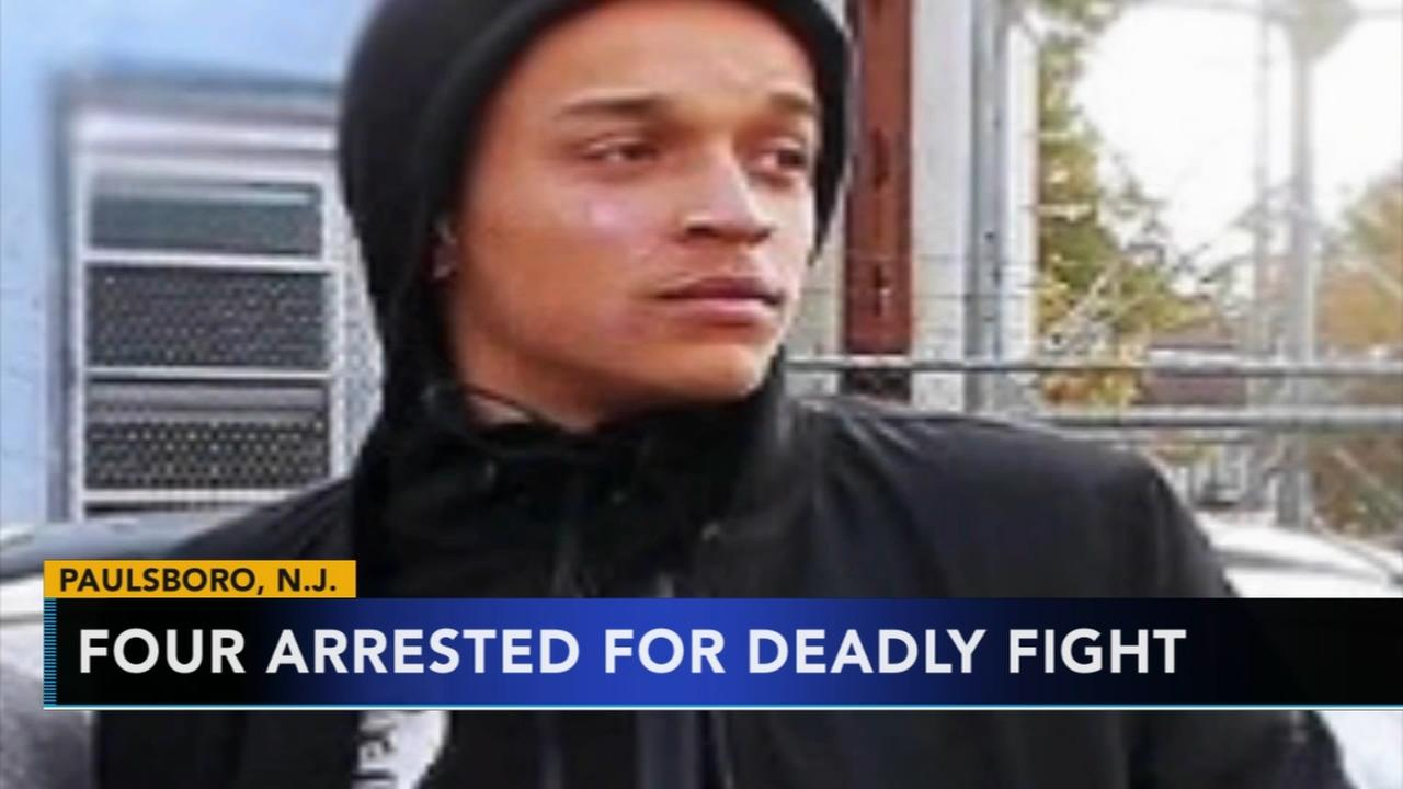 4 arrested in deadly Paulsboro fight