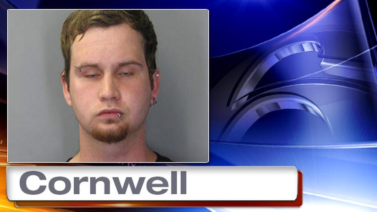 Suspect choked victim, threatened to torch house, police say