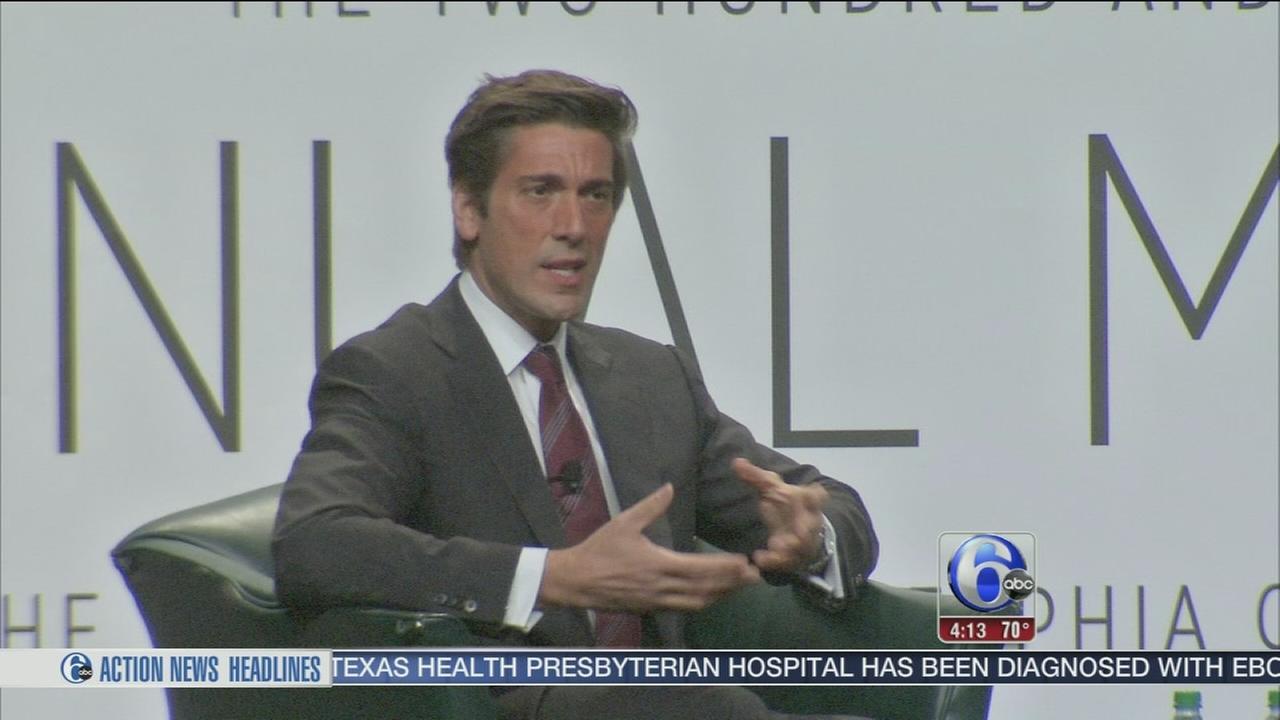 VIDEO: David Muir visits Philadelphia to discuss jobs