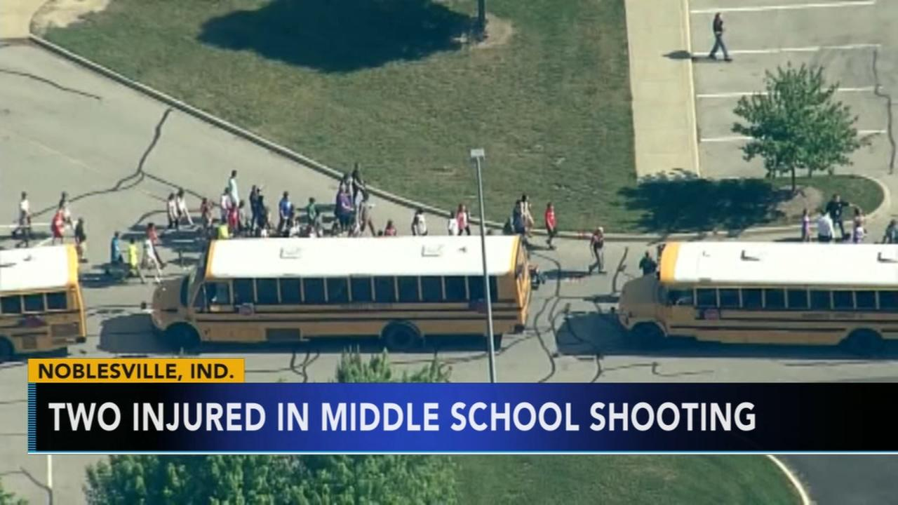 Indiana middle school shooting leaves 2 injured; suspect in custody