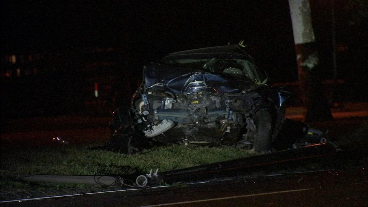 Crash on Kelly Drive