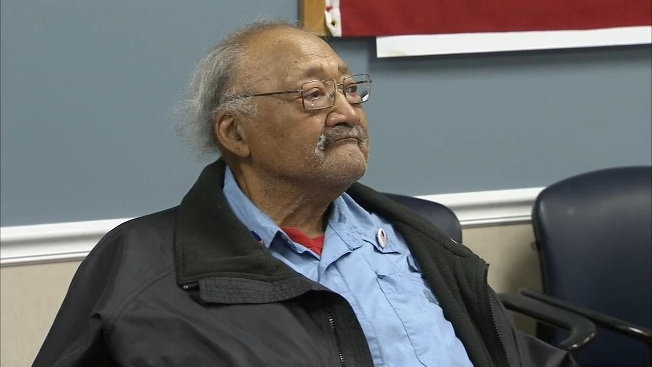 Army veteran honored as he turns 97
