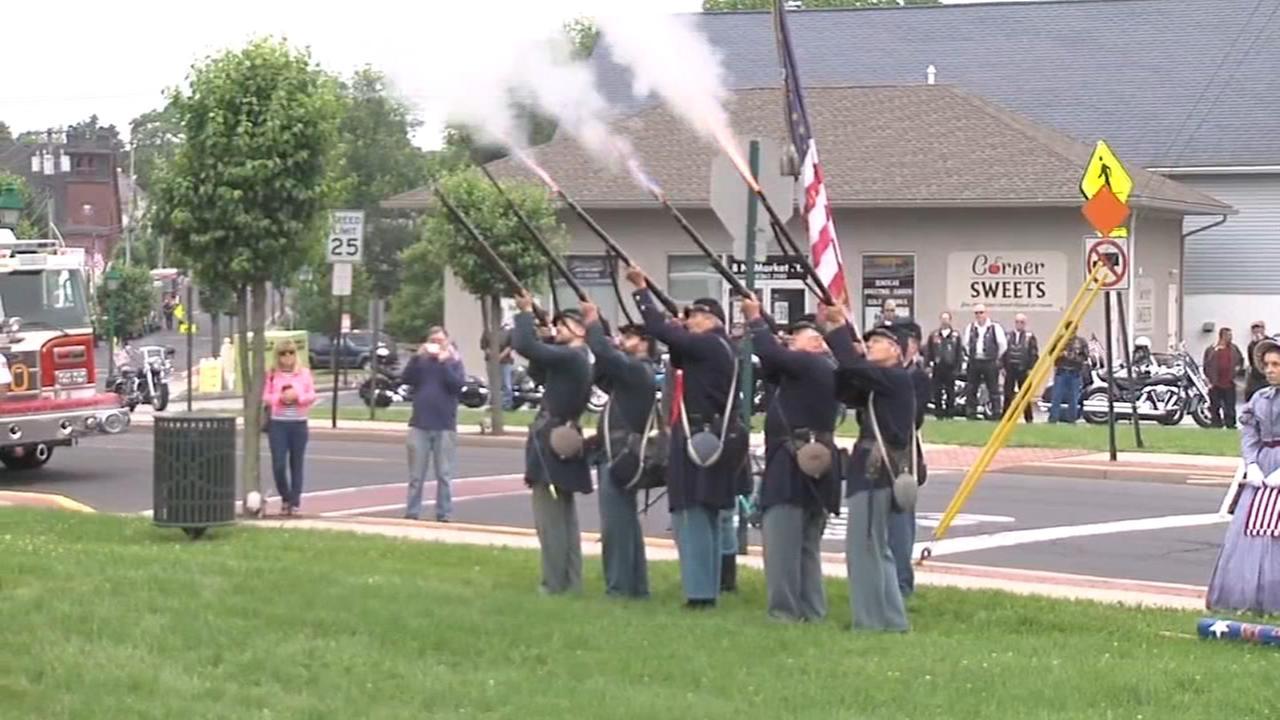 Memorilal Day in Hatfield, Pa.