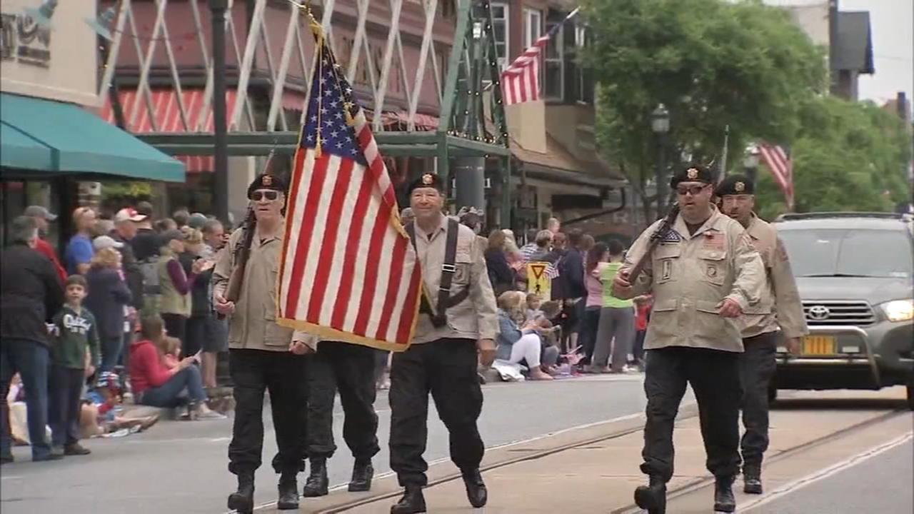 Annual Memorial Day ceremonies in Media, Pa.