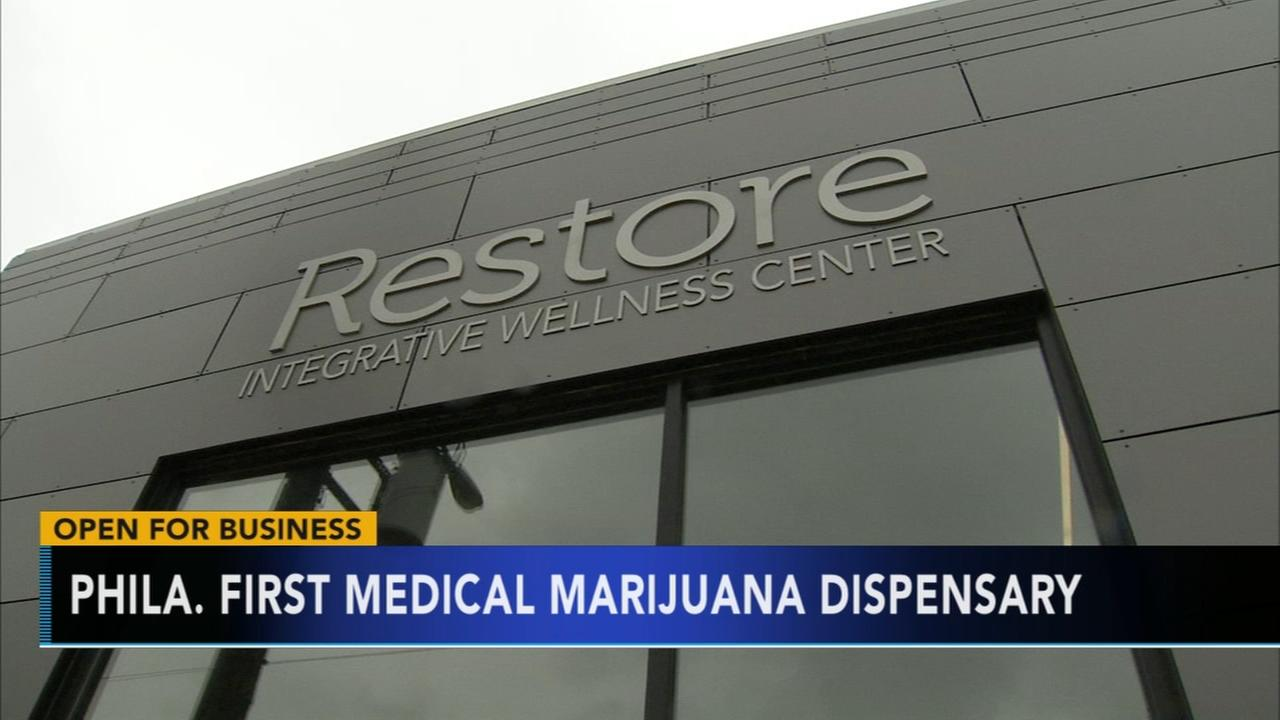 Phillys first medical marijuana dispensary open for business