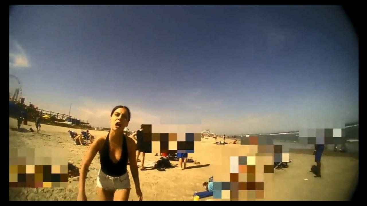 Wildwood police release body cam video of beach arrest