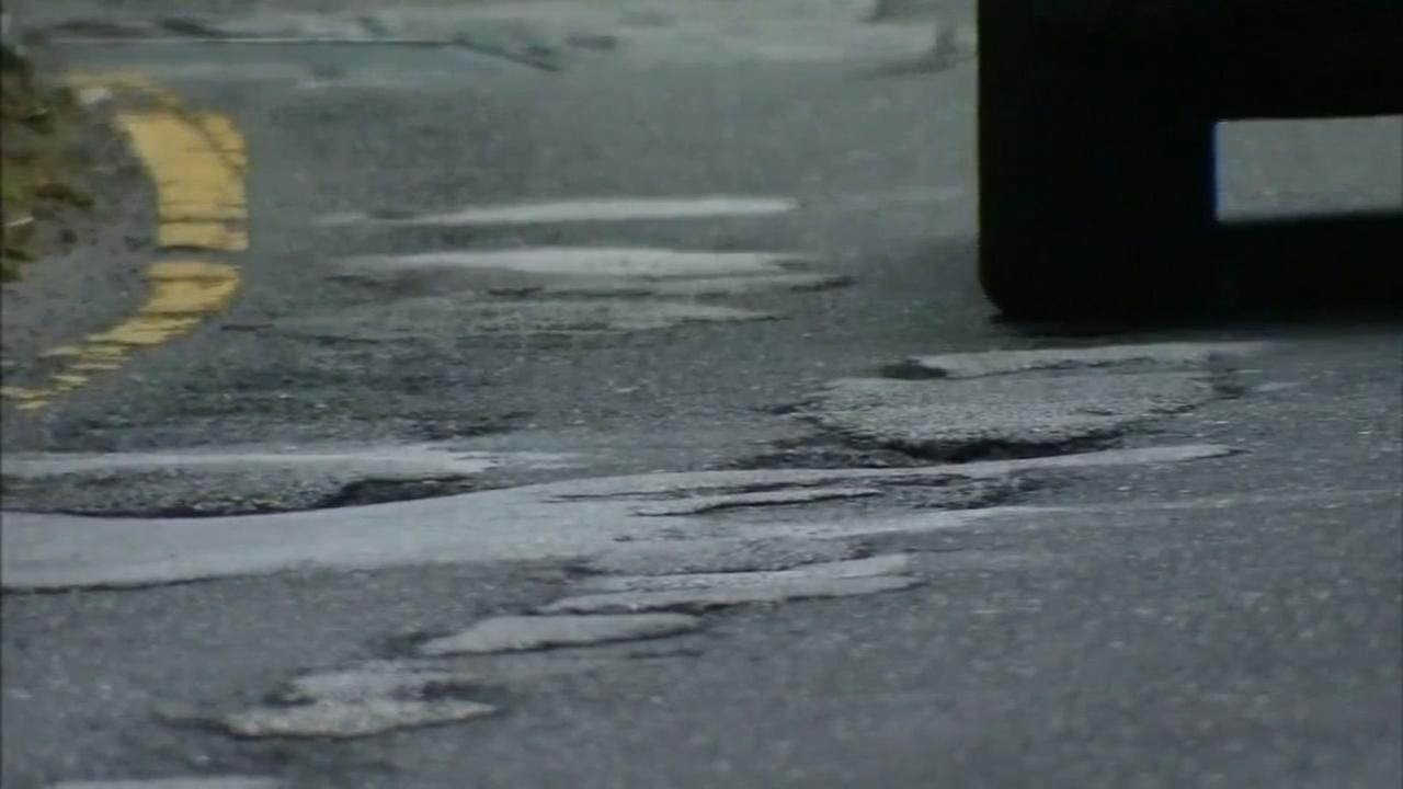 Pothole relief on the way, Wolf says