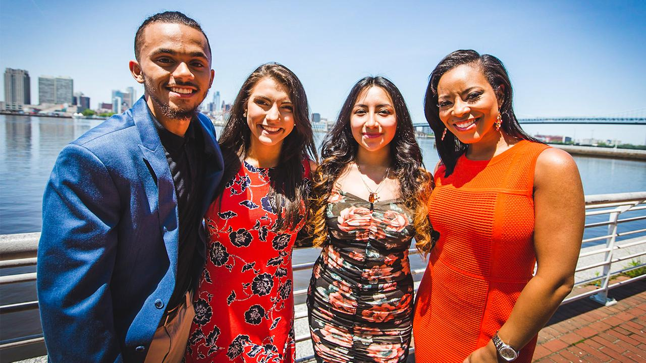 6abc celebrated valedictorians in the Class of 2018 at the Adventure Aquarium in Camden, New Jersey.