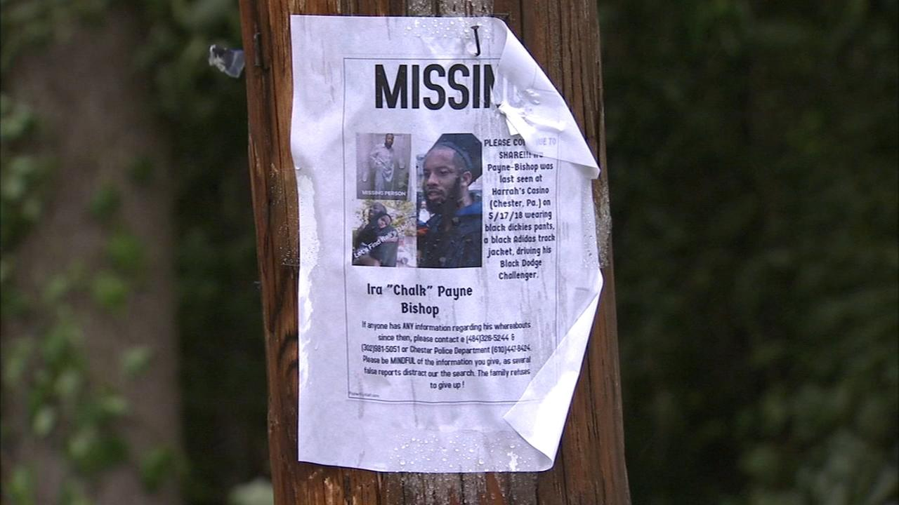 Family searches Fairmount Park for missing Chester man