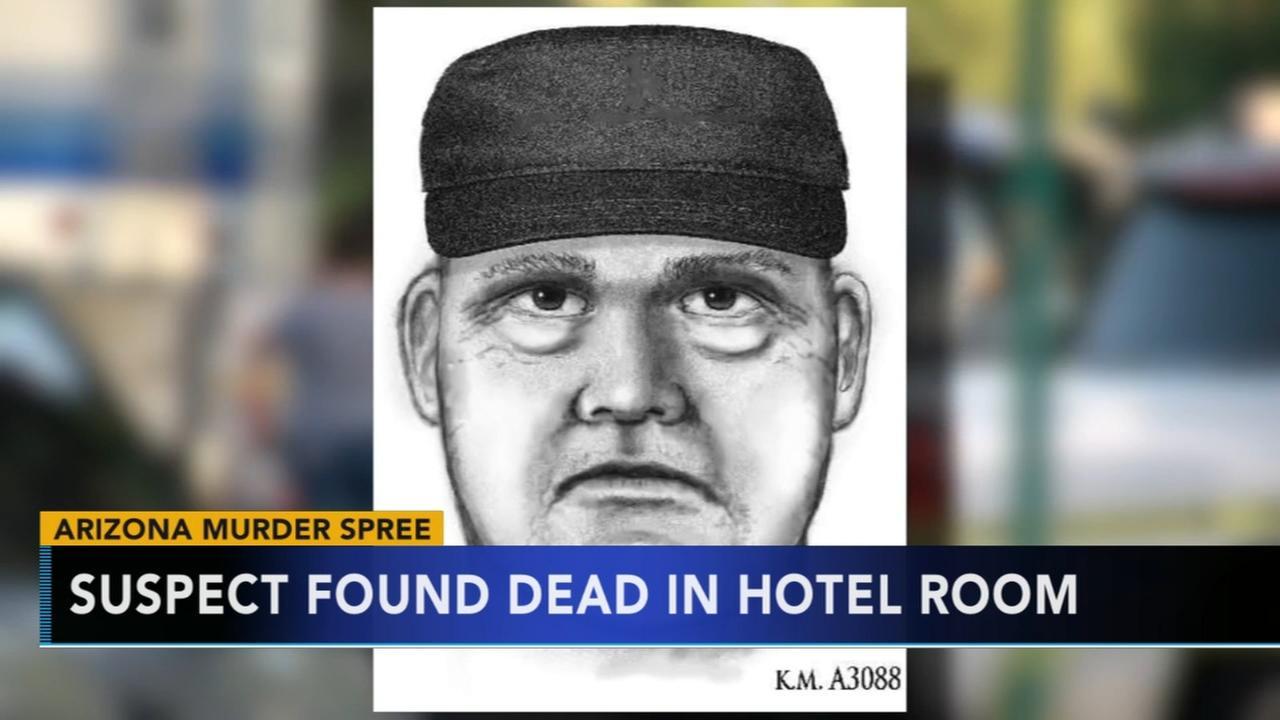 Arizona murder spree suspect found dead