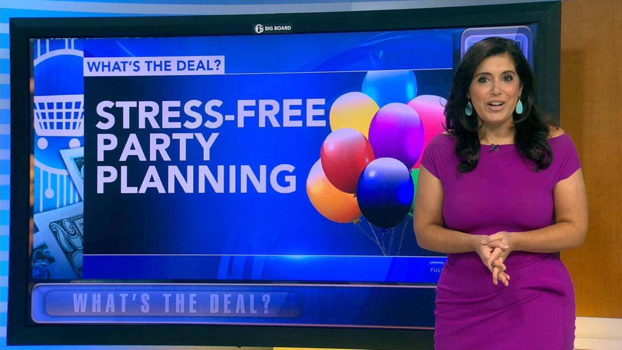 Whats the Deal: Stress free party planning