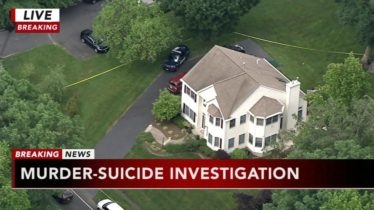 Murder-suicide investigation underway in Robbinsville Twp