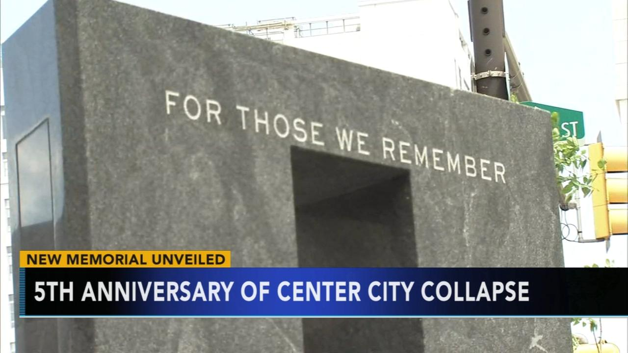 Building collapse memorial dedicated