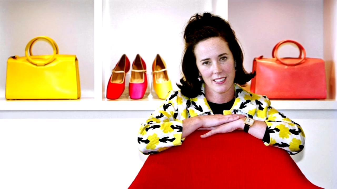 Kate Spade dies of apparent suicide