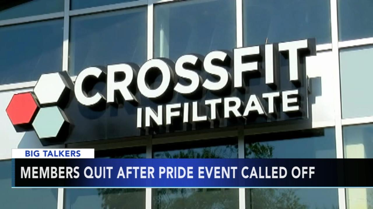 Members quit after gyms LGBT Pride Month event called off