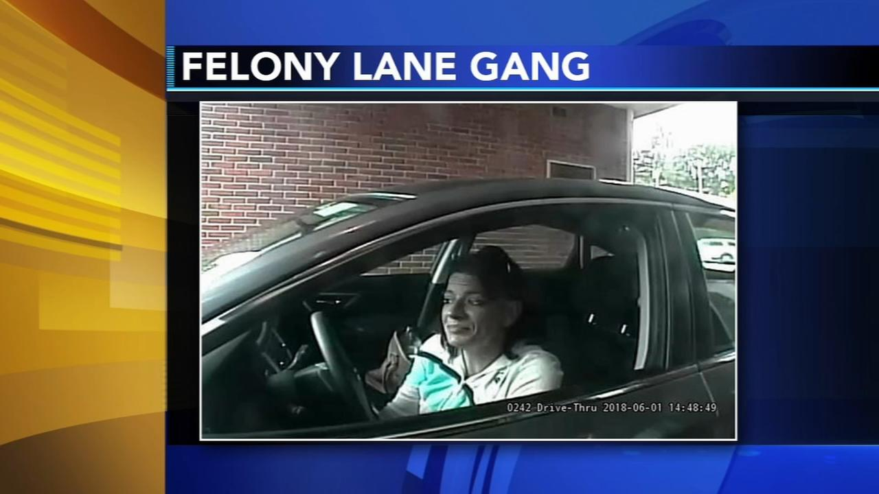 Felony Lane Gang strikes in Bucks County