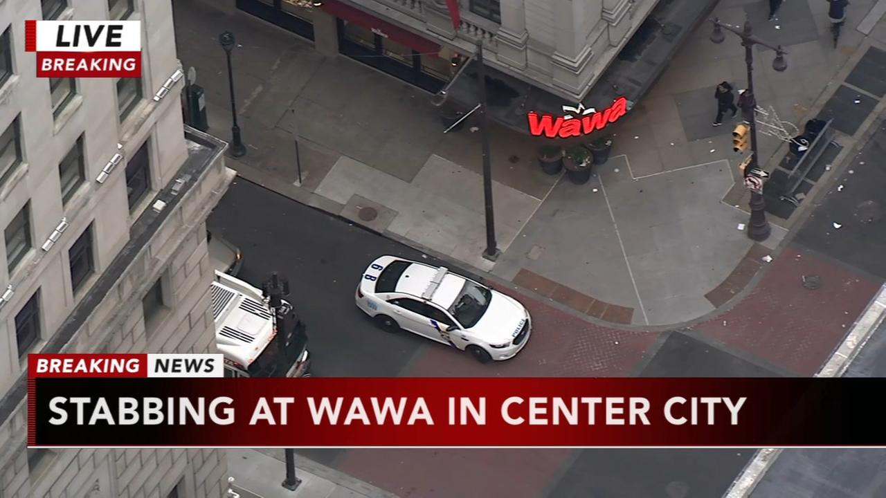 Stabbing at Wawa in Center City