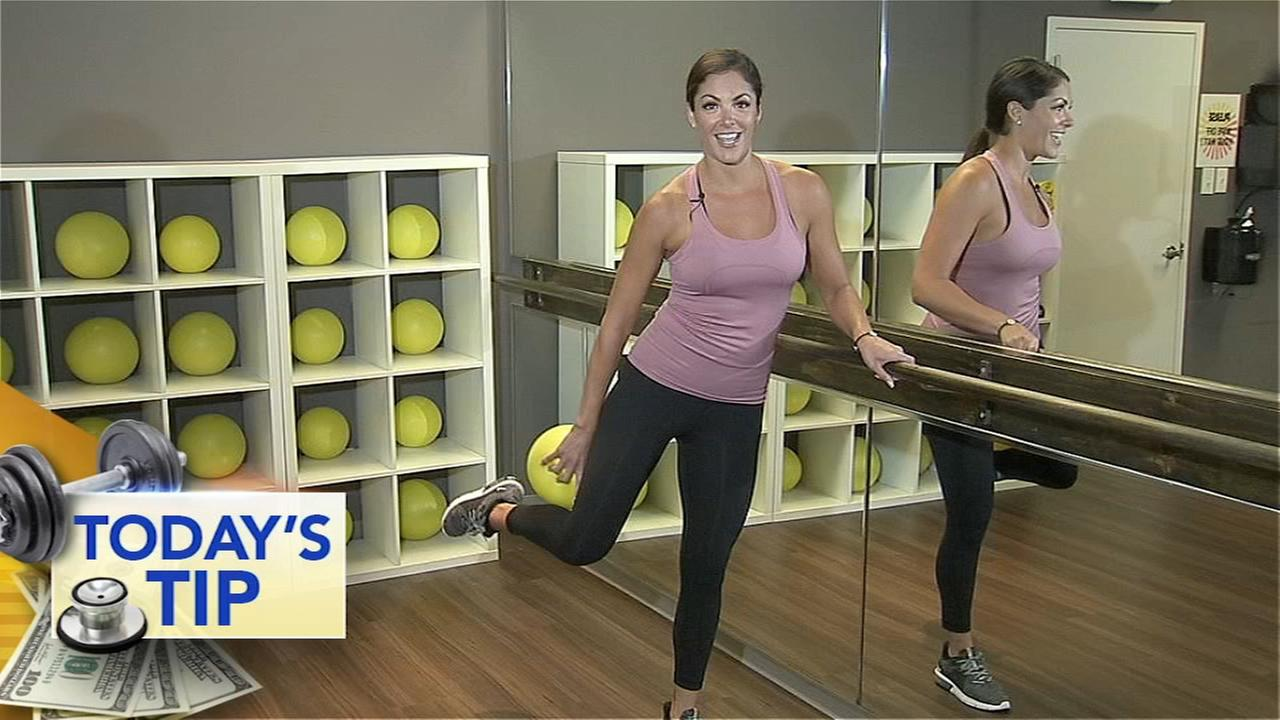 Toning your lower body - Todays Fitness Tip