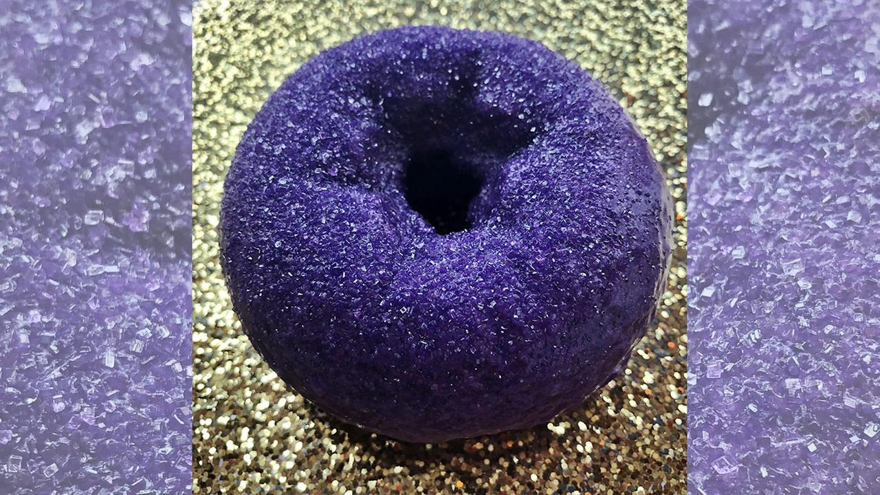 Federal Donuts makes 'Purple Rain' donut for Prince's birthday