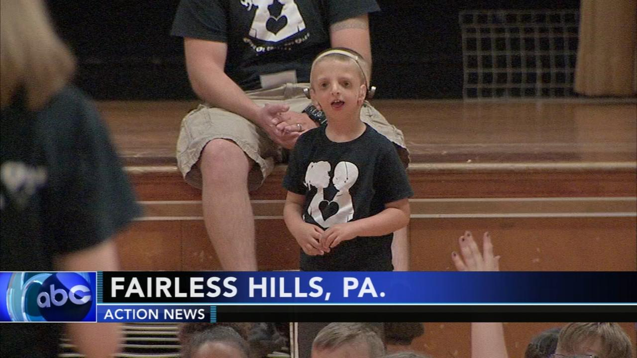 Bucks County boy teaching classmates to choose kindness