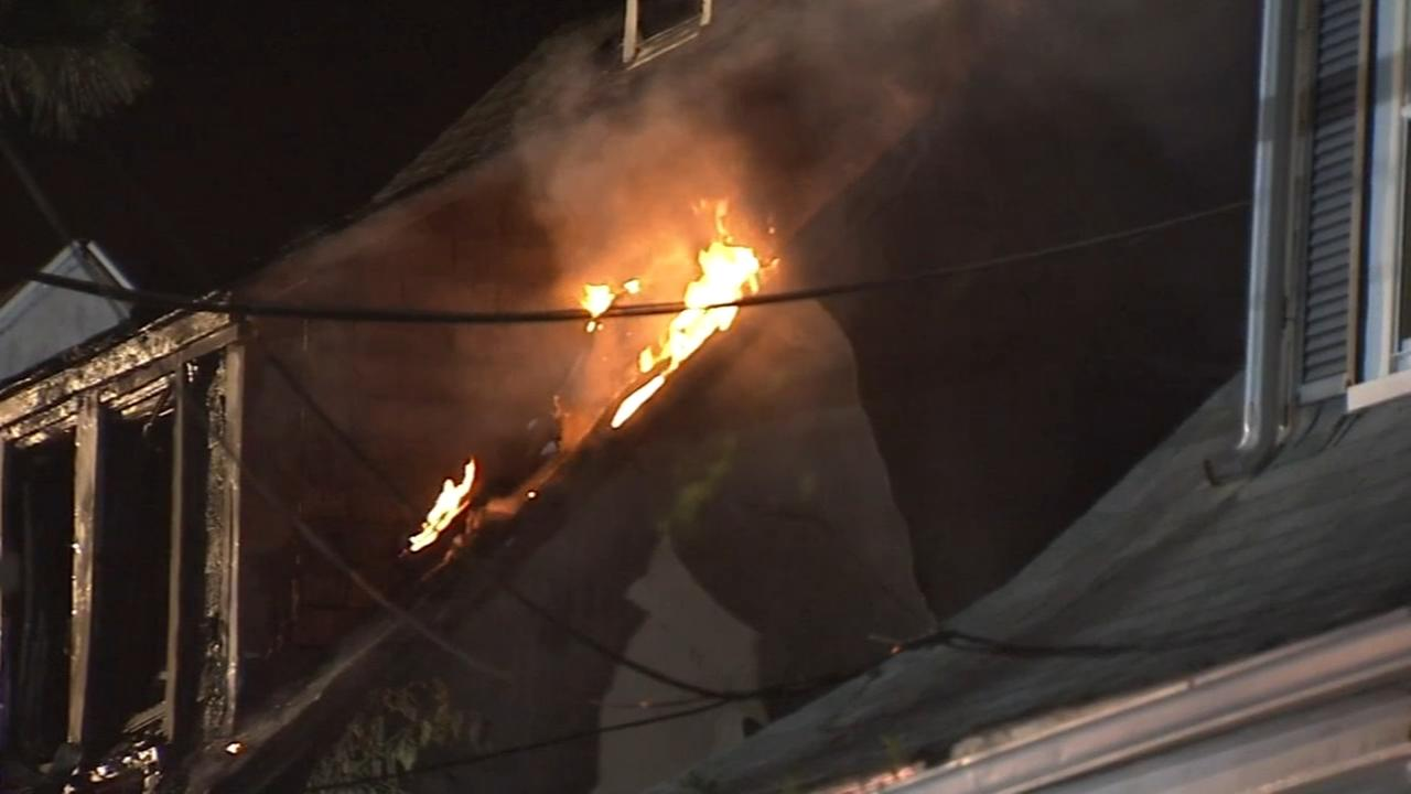 Chester fire damages 4 homes, displaces 6