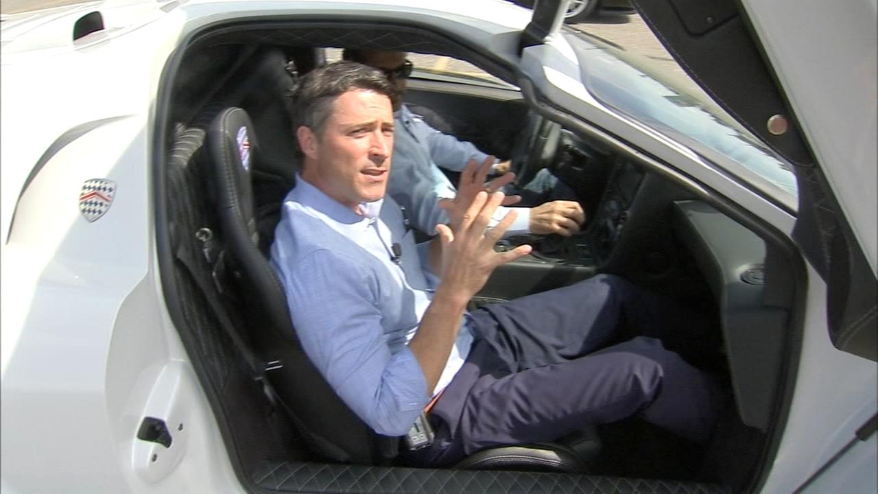 Matt ODonnell tests exotic cars ahead of this weekends Super Car Show
