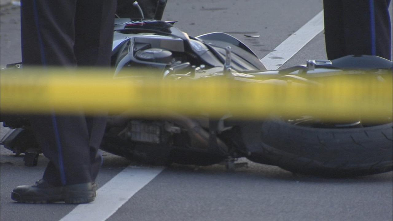 Two separate motorcycle deaths in Philly Thursday