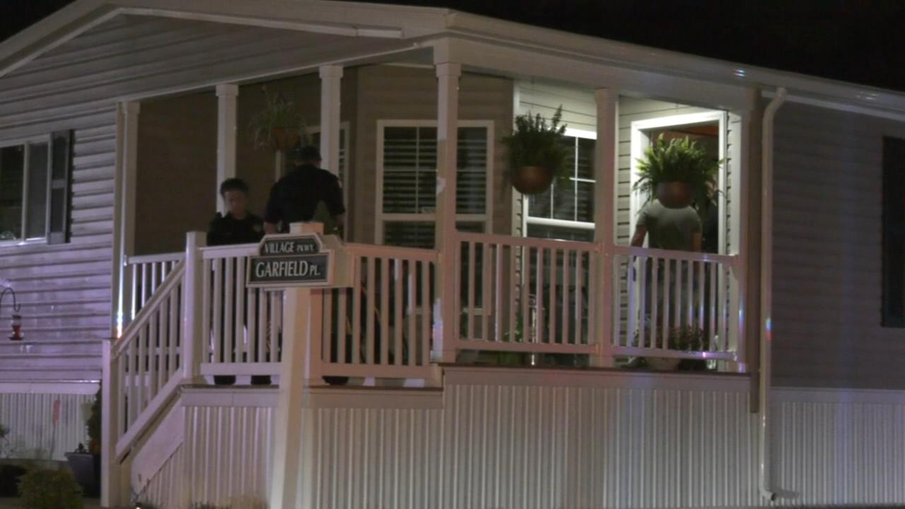 Man burned in house fire