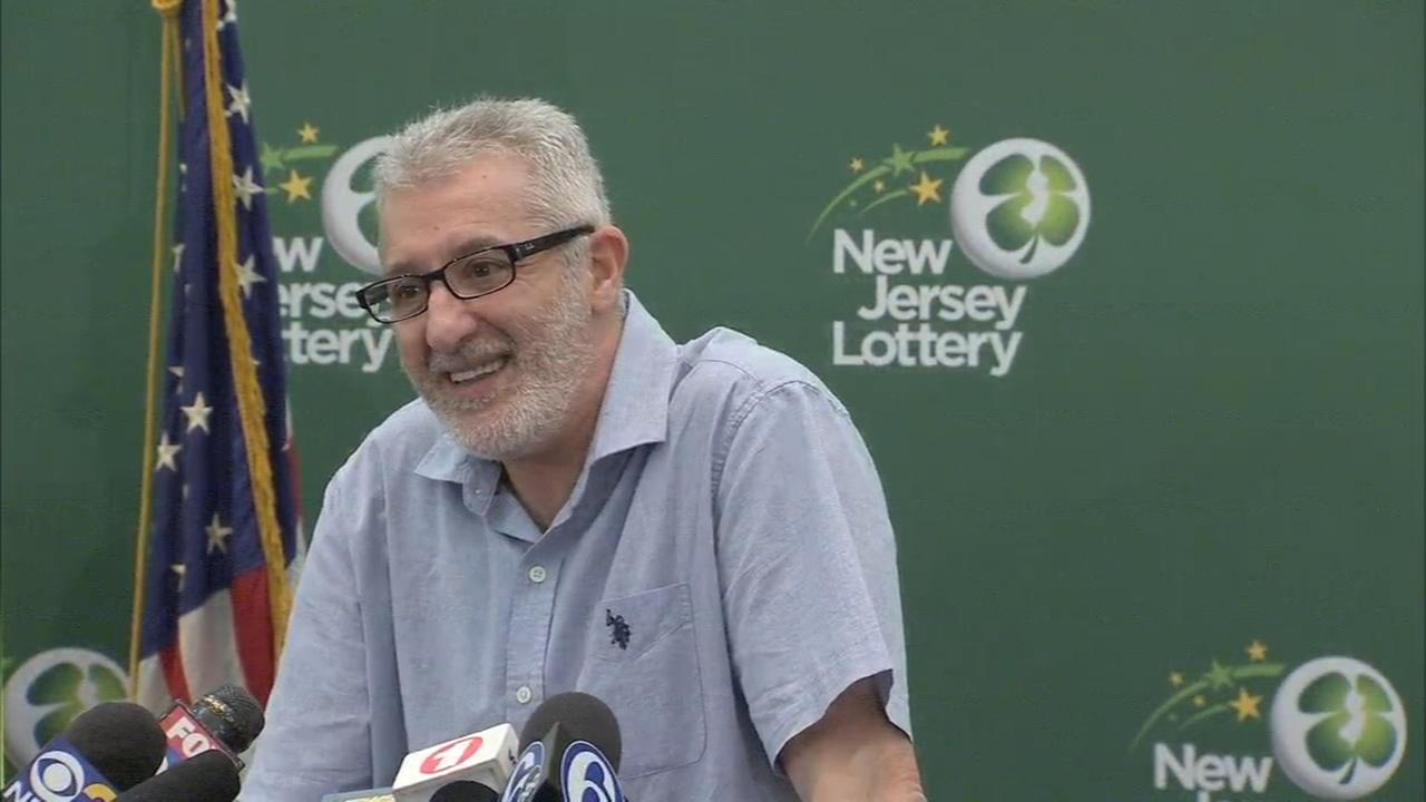 New Jersey man claims $315 million Powerball jackpot