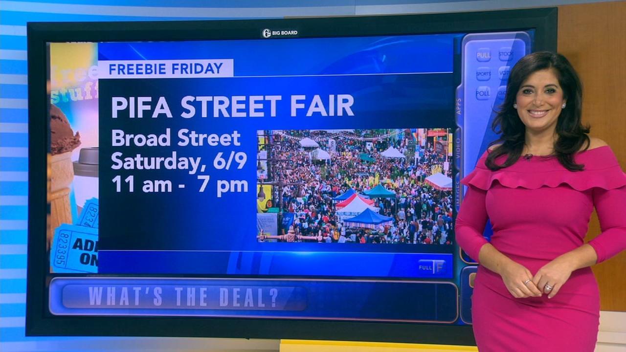 Freebie Friday: Tacos, pizza, PIFA street fair