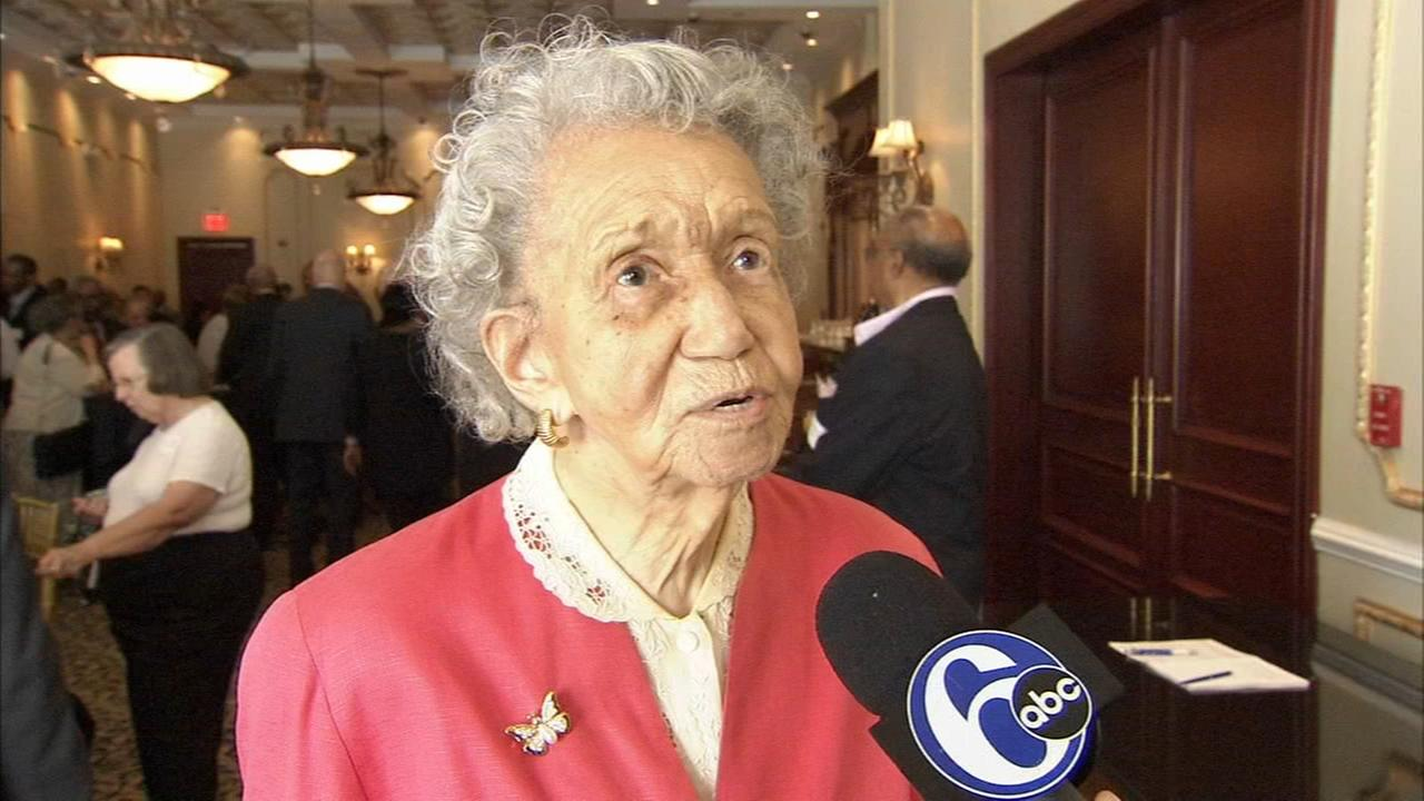 Family and friends surprise 100-year-old mentor in Burlington Co.