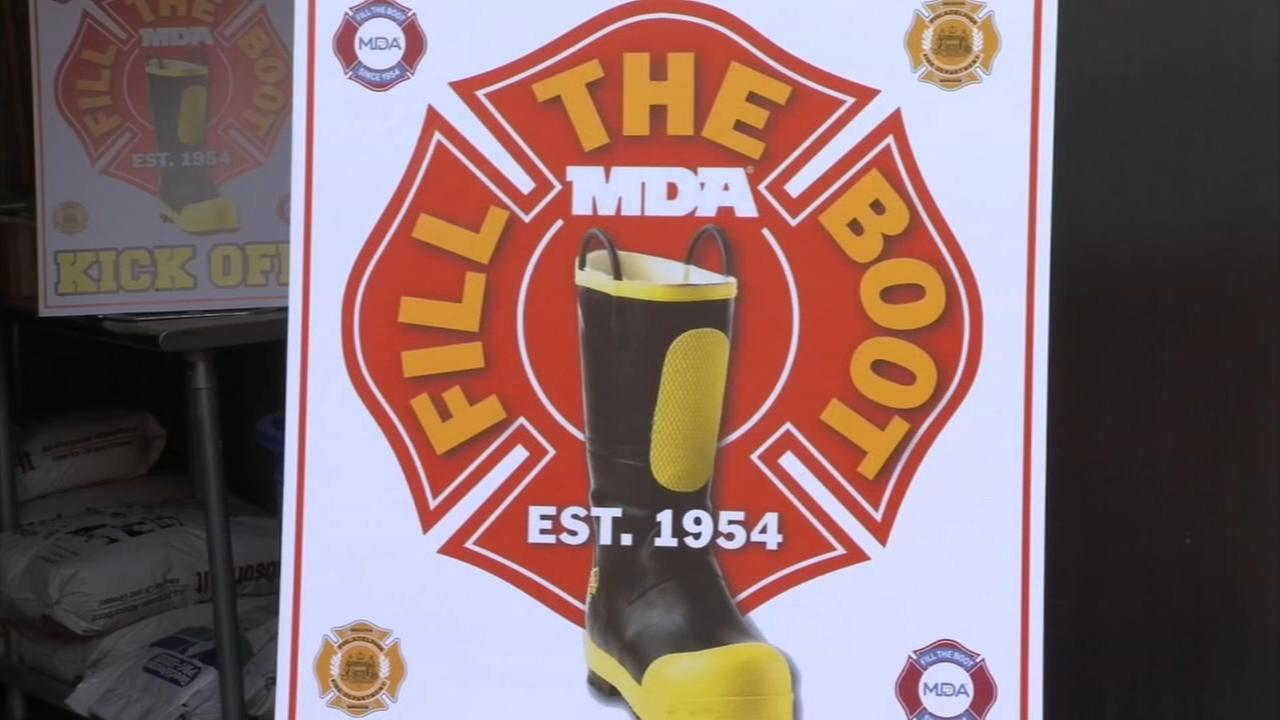 Firefighters begin FIll-The-Boot campaign