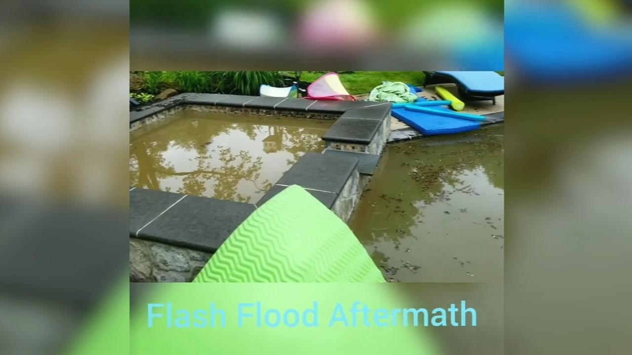 Adam Josephs home hit by flash flooding