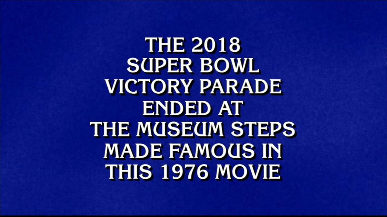 Eagles Super Bowl Parade is clue on Jeopardy