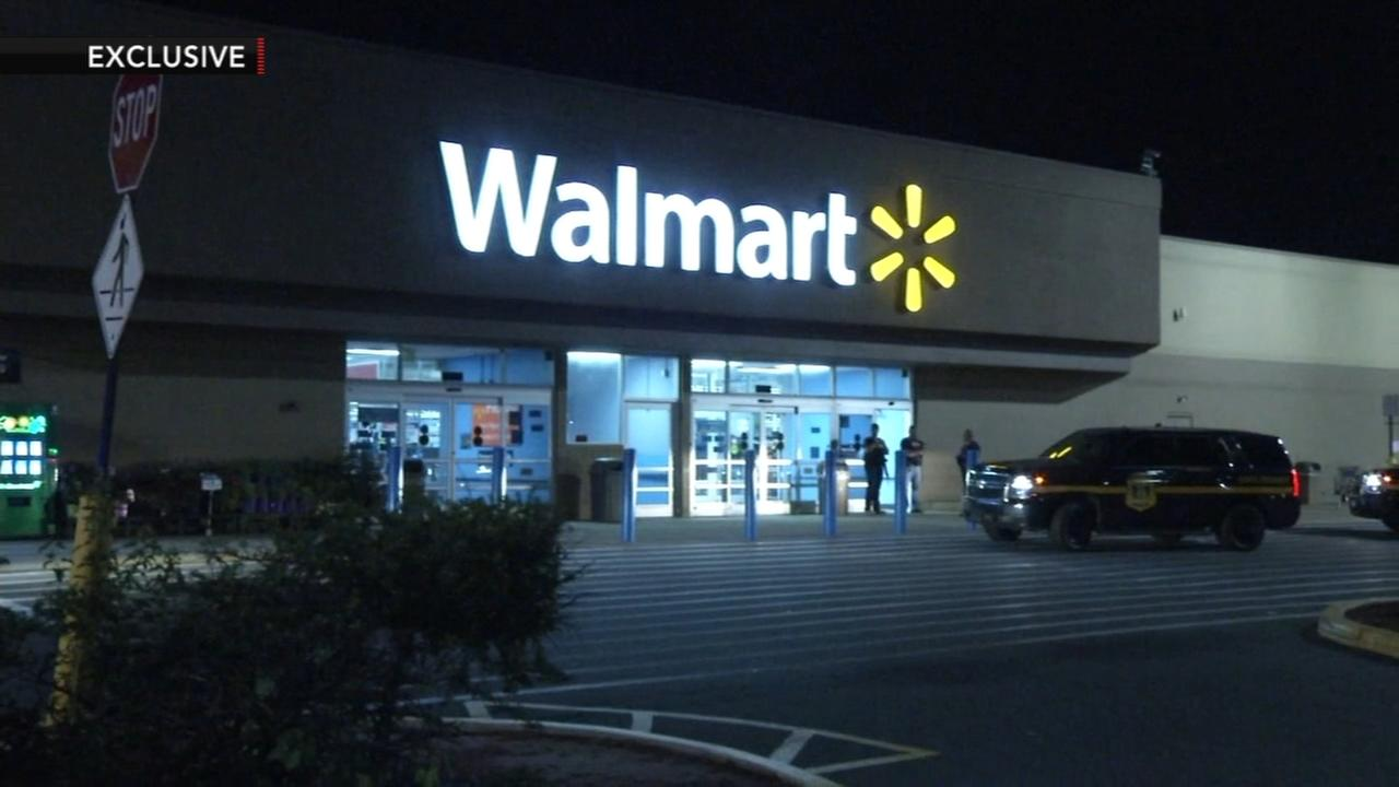 Armed confrontation at Delaware Walmart