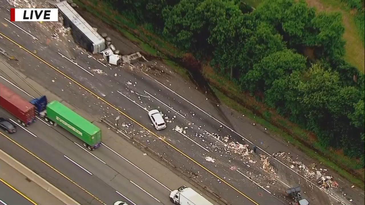 Crash on NJ Turnpike