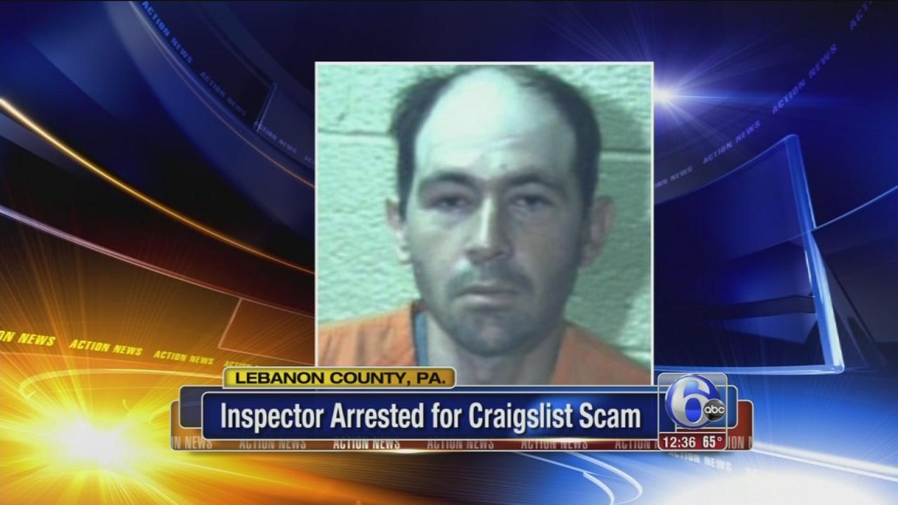 Pa. home inspector arrested for Craigslist scam | 6abc.com