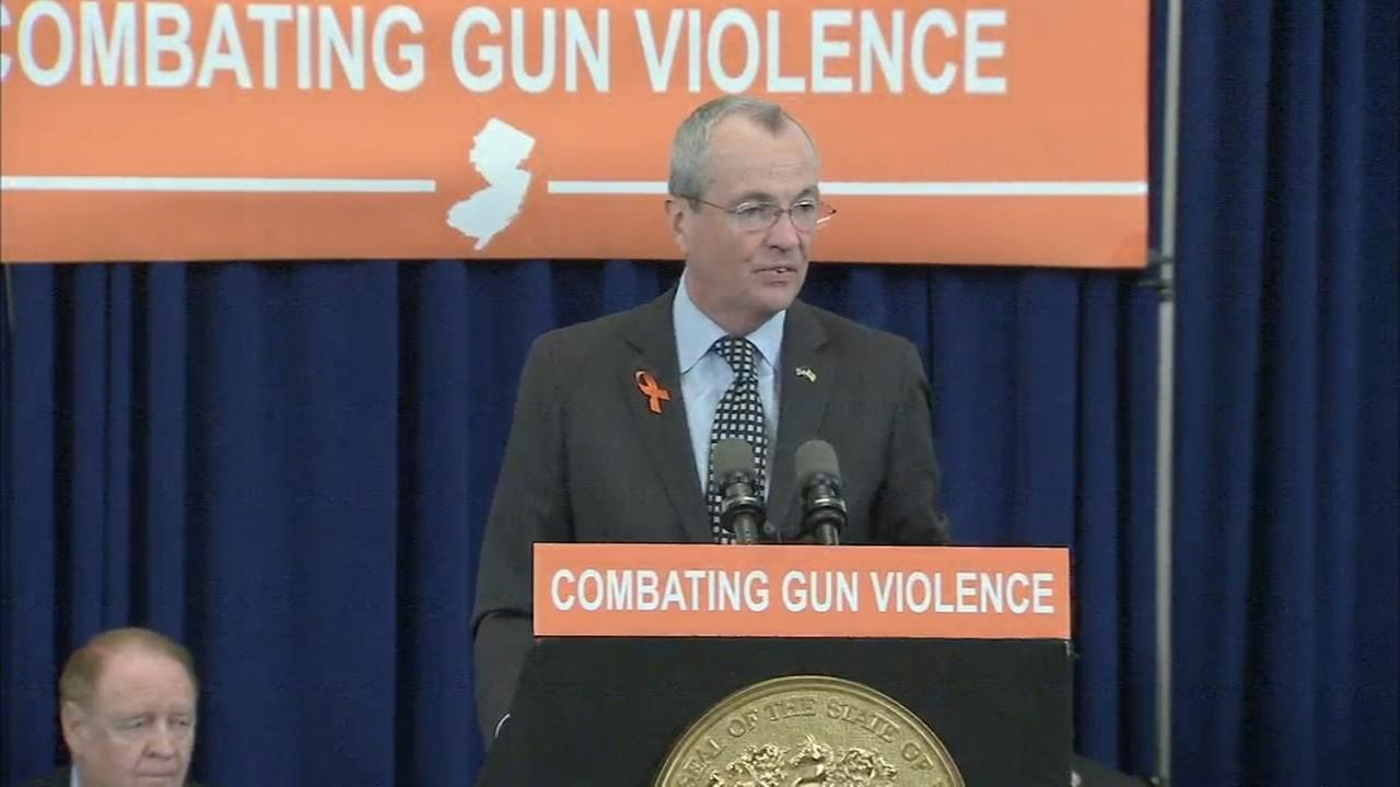 Governor signs 6 gun control measures in New Jersey