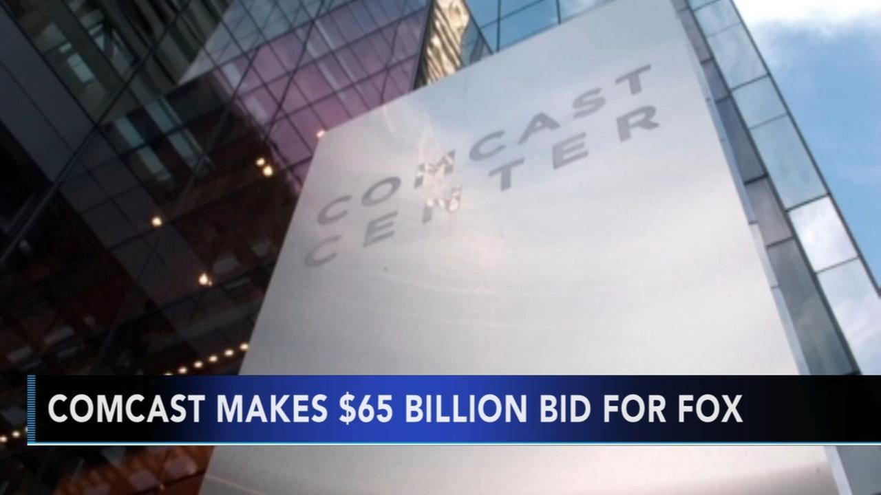 Comcast bids for Fox
