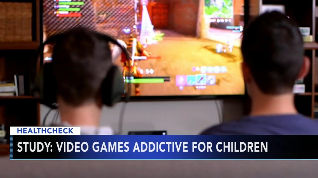 Study: Video games addictive for children