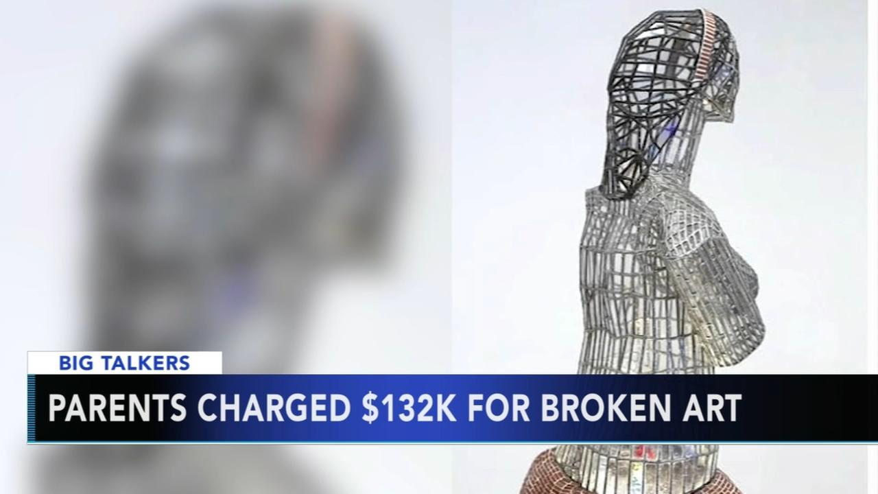 Kansas family on the hook for $132,000 after son topples statue