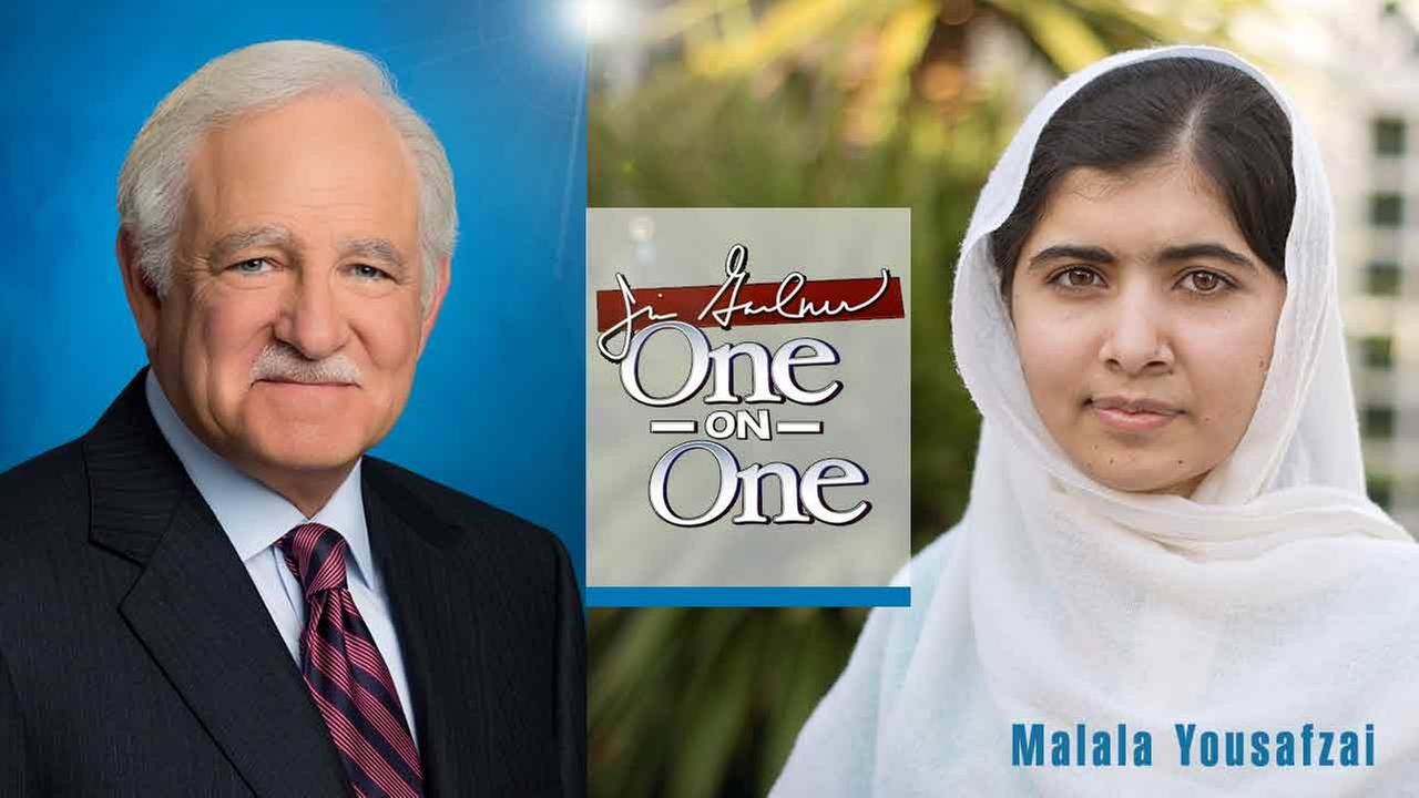 Jim Gardner One-on-One with Malala Yousafzai