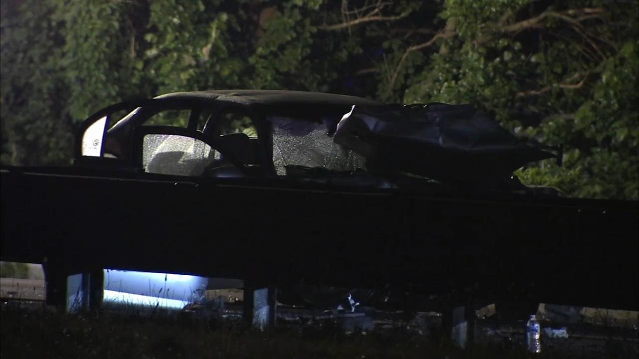 I-295 SB reopens after multi-vehicle crash