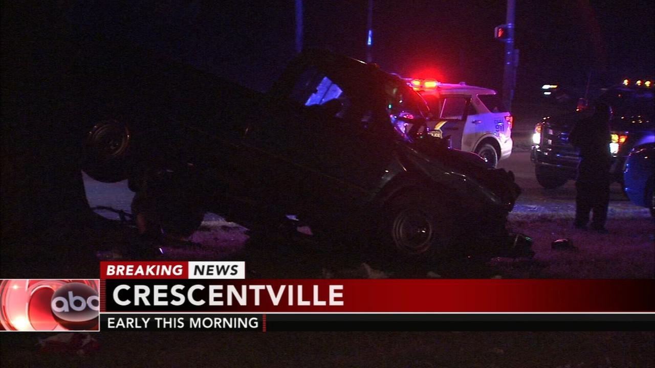 Pregnant woman injured in Roosevelt Boulevard crash