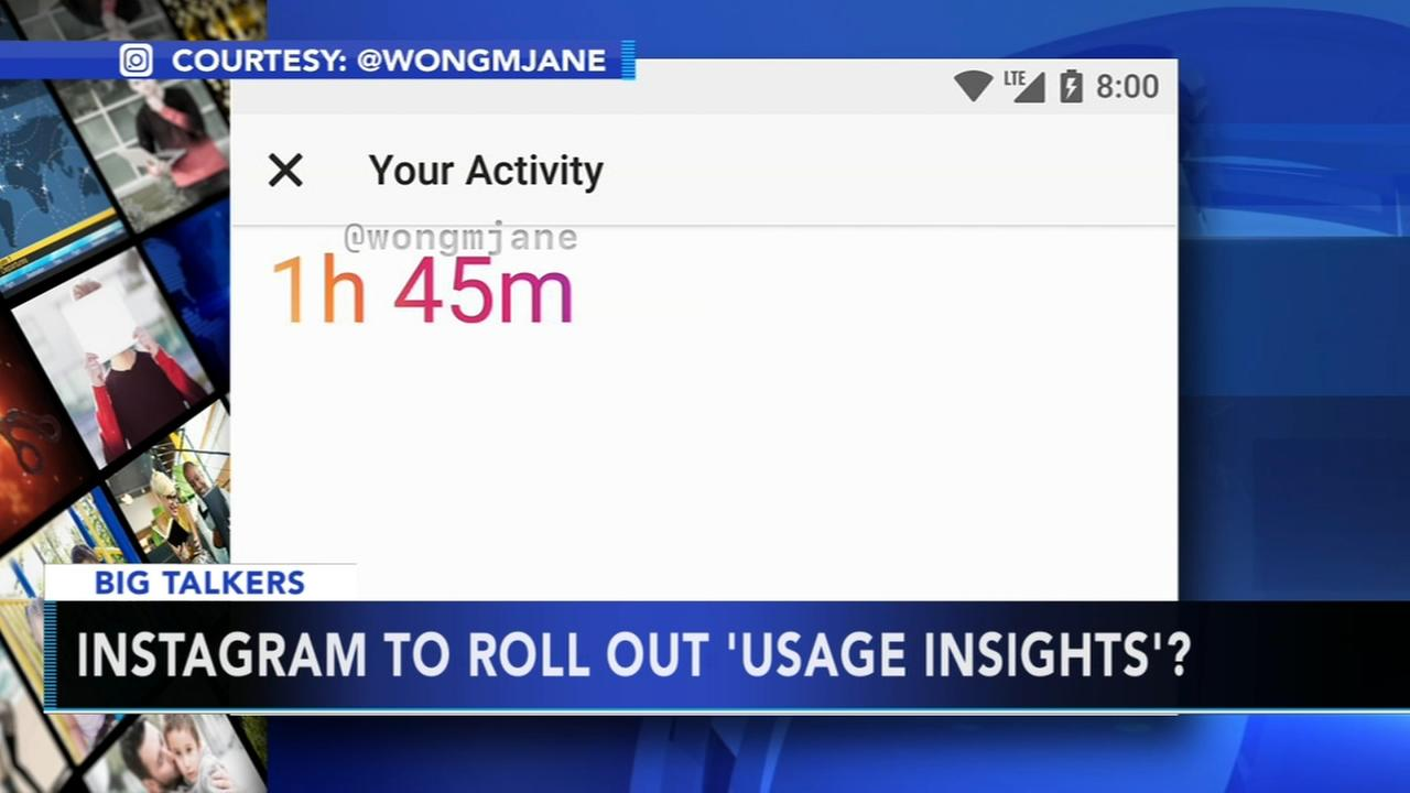 Instagram to roll out usage insights?